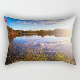Lake Sun Rectangular Pillow