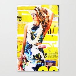 Wild Yellows Canvas Print