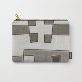 Protoglifo 10 Greyish approaching Carry-All Pouch