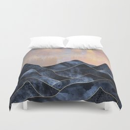 Mountainscape Duvet Cover