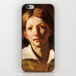 "Théodore Géricault ""Young blond man"" iPhone Skin"