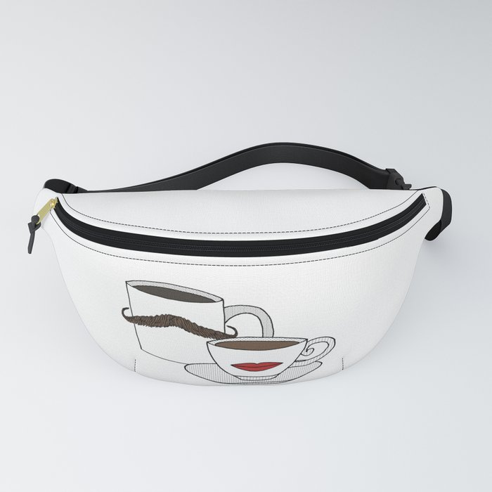 The Caffeinated Couple Fanny Pack