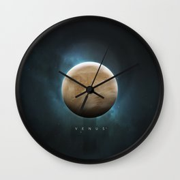 A Portrait of the Solar System: Venus Wall Clock