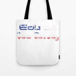 Edison New Jersey Tote Bag