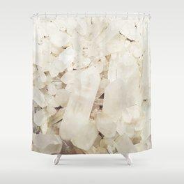 Quartz Crystals Shower Curtain