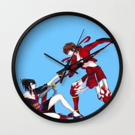 Nouhime vs Yukimura Wall Clock