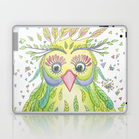 Forest's Owl Laptop & iPad Skin
