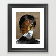 Crazy Woman - stairway to h... Framed Art Print
