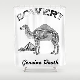 BOWERY // BLACK LUNG Shower Curtain