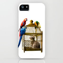 Caged and Confused iPhone Case