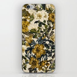 Warm Winter Garden iPhone Skin