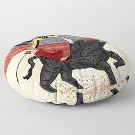 Death Of A Matador Floor Pillow