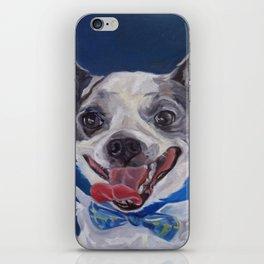 Chihuahua Dog Portrait iPhone Skin