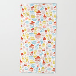 Okapi Animal Print Beach Towel