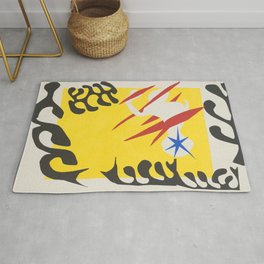 The Nightmare of the White Elephant by Henri Matisse Rug