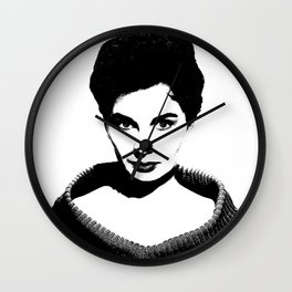 Jean Simmons Is Class Wall Clock