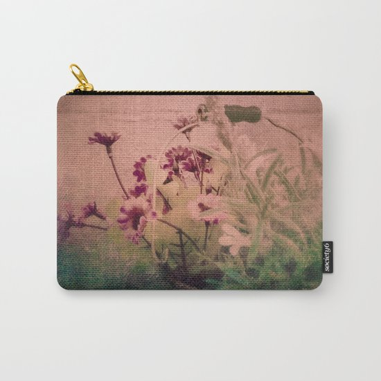 Floral Joy Carry-All Pouch