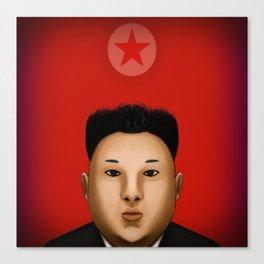 Kim Jong  The Supreme Leader Canvas Print