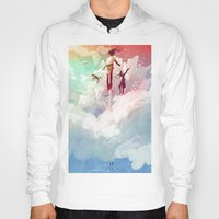 fly Hoodies featuring FLY by Javier G. Pacheco