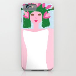 THE ROSEBUSH AND THE ROSES iPhone Case