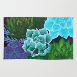 Mini Succulents Rug