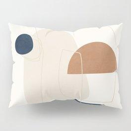 Spiraling Geometry 4 Pillow Sham