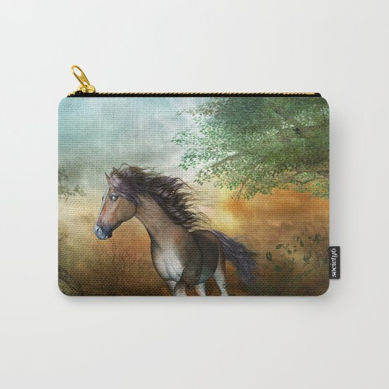 Beautiful brown horse Carry-All Pouch