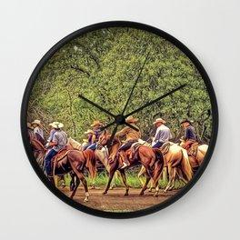 Texas Traffic Jam Wall Clock
