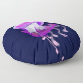 Ruffled Jellyfish Floor Pillow