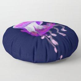 Ruffled Jellyfish Floor Pillow