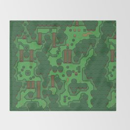 Gamers Have Hearts - The Lost Link Throw Blanket