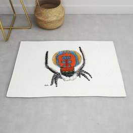 Peacock Spider Rug