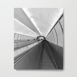 Next Stop...Unknown Metal Print