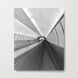 Next Stop...Unknown Metal Print