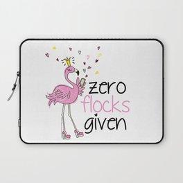 Zero Flocks Given Laptop Sleeve