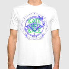 Kate of Kale's All Seeing Ch**bEye. MEDIUM Mens Fitted Tee White