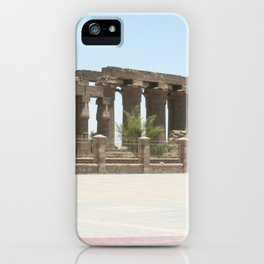 Temple of Luxor, no. 25 iPhone Case
