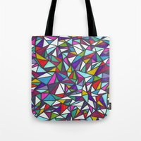 sparkle Tote Bags featuring Sparkle by Erin Jordan