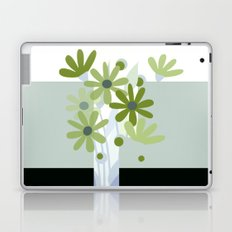 modern flowers in vase Laptop & iPad Skin