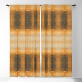 Abstract October Vibes Blackout Curtain