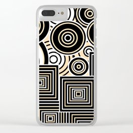 Behind the Wall Clear iPhone Case