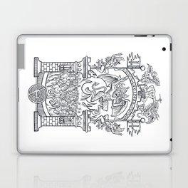 Satanic Rock Laptop & iPad Skin