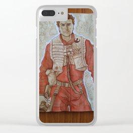 Hot Dameron Clear iPhone Case