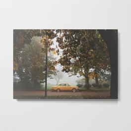 Yellow on Yellow Metal Print
