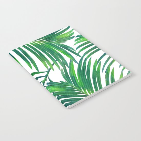 Palm Paradise #society6 #decor #buyart Notebook