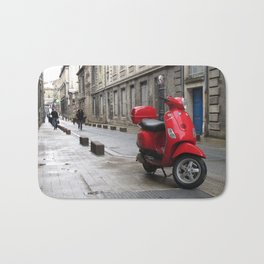 Side Street in France Bath Mat