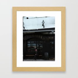 The Fisherman's Pub Framed Art Print