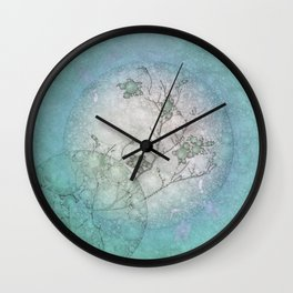Serenity Blue Wall Clock