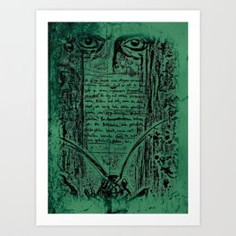 Kafka I Art Print