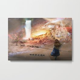 welcome baby Metal Print